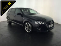 2011 AUDI A3 S LINE SPECIAL EDITION TDI 168 BHP 1 OWNER SERVICE HISTORY FINANCE