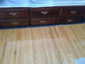 Set of drawers for under your bed.