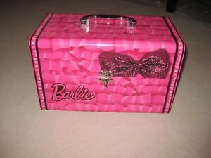 Barbie Case with Markers, Crayons etc - $5.00 obo