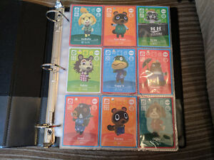 Huge Lot Of Animal Crossing Amiibo Cards
