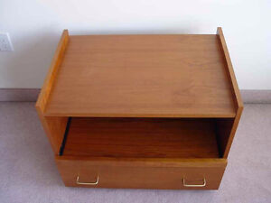 Teak TV/Stereo Table/Stand MCM