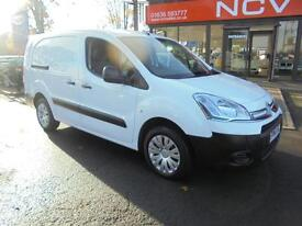 2014 CITROEN BERLINGO 750 LX HDI NO VAT LWB THREE SEATS NAV A C