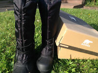 Sorel new Winter Boots at discounted price. Black color. Size 10