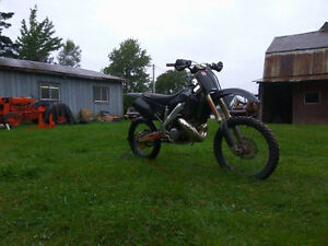 looking for a blown cr 125 year 2000+