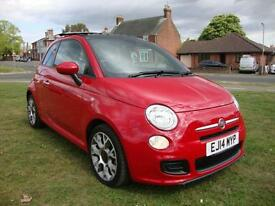 Fiat 500 0.9 Twinair S 3-Dr, 2014, 'STUNNING' HIGH SPEC, ONLY 6000 MILES, FFSH