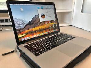 "Macbook Pro 2013 13"" Retina 8gb Ram 256gb SSD i5 MINT Condition"