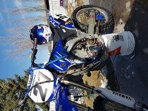 **MINT 2008 yzf 450 trade for 4x4 quad