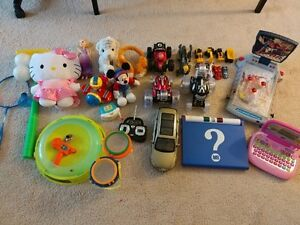 (reduced) used toys