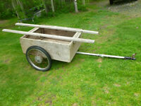 ATV Trailer carrys boat or canoe also