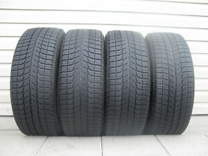 FOUR (4) MICHELIN X-ICE WINTER TIRES /215/55/17/ - $300