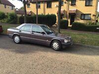 Mercedes 190e 2.0 Manuel
