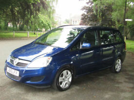2010 Vauxhall Zafira 1.6 Exclusiv**PETROL 7 SEATER MPV**PSH**JUST SERVICED**