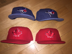 Blue Jays Jean Hats and Canada Day Hats