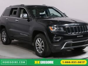 2016 Jeep Grand Cherokee LIMITED 4WD CUIR TOIT MAGS CAMÉRA RECUL