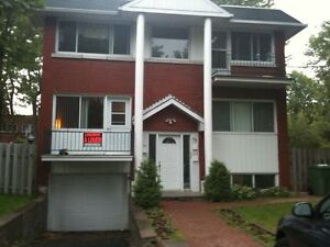 5 1/2 upper triplex for July 1st. Great area and apartment.
