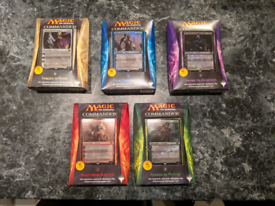 MTG Commander 2014 Sealed Set of 5