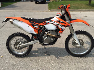 2013 KTM 350 xcfw Blue Plated