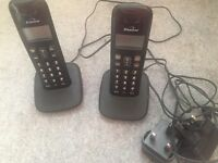 Two extension phones
