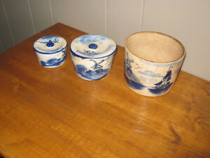 3 Delft canisters