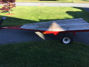SMALL BOAT OR UTILITY TRAILER