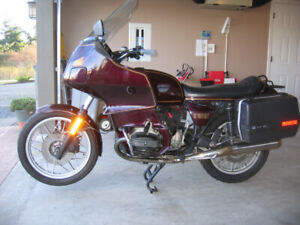 BMW AIRHEAD 1984 R100RT RELIABLE CLASSIC TOURING BIKE