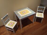Hand Painted Kids Table