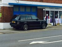Range Rover 4.2 supercharged fully loaded.