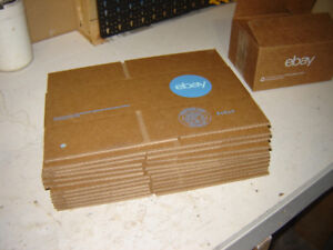 """NEW Shipping boxes 8x6x4"""" 75 Pieces"""