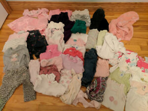 Girl's 3-6m clothes