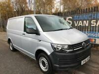2016 66 VOLKSWAGEN TRANSPORTER 2.0 T28 TDI BMT 102 BHP VW T6 IN SILVER ONE OWN