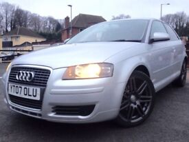 2007 AUDI A3 1.9 TDI SPECIAL EDITION RS4 ALLOYS FACELIFT MINT IN AND OUT FULL SERVICE HISTORY