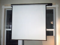 "Impressive Motorized Video Screen 72"" 1:1 Kitchener / Waterloo Kitchener Area Preview"