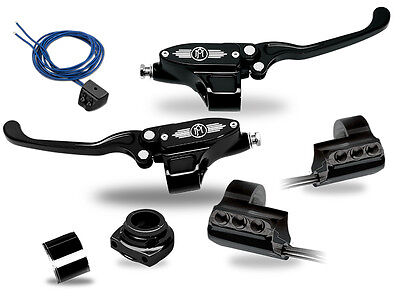 Performance Machine Contrast Cut Controls Complete Kit Hydraulic Clutch w/ Grips