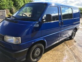 Vw T4 transporter project,camper