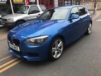 2014 BMW 120 2.0TD ( 184bhp ) 4X4 xDrive M Sport 1 owner FBMSH