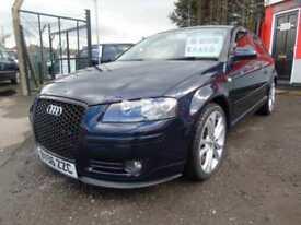 2006 Audi A3 3.2 V6 Quattro Sport 3dr,FSH,12 months mot,Warranty,Px welcome,L...