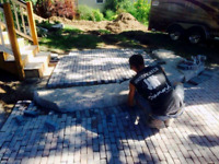 Small job stone work..