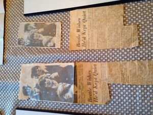 Beatles newspaper clippings Kitchener / Waterloo Kitchener Area image 3
