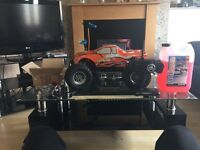 Thunder tiger mta4 s28 nitro car with spares