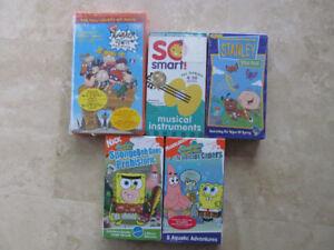 Sponge Bob Square Pants, So Smart, Kids movies, VHS format, NEW