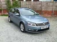 **£30 Tax** 2013 VW Passat TDI ESTATE Bluemotion Tech S
