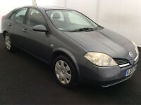 2005 Nissan Primera 1.8 Automatic, Just Serviced, Full Service History auto like honda, toyota bmw