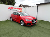 2011 AUDI A1 1.4 TFSI 122 BHP S-LINE 3 DR ONLY 43000 MILES WITH F AUDI S/HISTORY