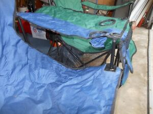 Double wide folding Lawn chair Kitchener / Waterloo Kitchener Area image 4