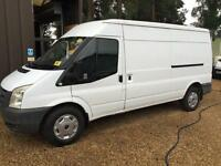 FORD TRANSIT 350 SHR 115bhp, White, Manual, Diesel, 2009