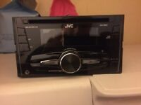 Jvc radio/CD player