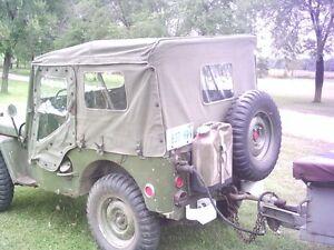 1952 military jeep M38CDN + 1953 M100CDN trailer Peterborough Peterborough Area image 8