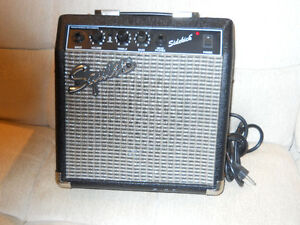 Amp by Squire  11 x 12 x 7 Works great Windsor Region Ontario image 1