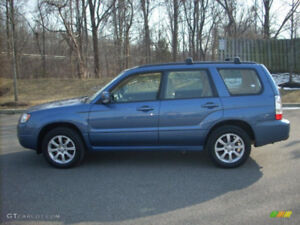 Subaru Forester 2007 2.5x with 270 000km