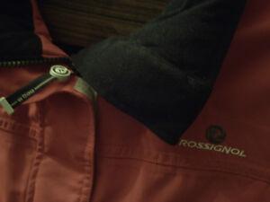 manteau d'hiver Rossignol Rouge grandeur médium 8-10 ans. Saint-Hyacinthe Québec image 5